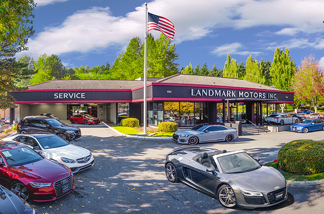Landmark Motors INC. Storfront