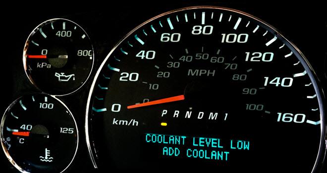 BMW Low Coolant Light