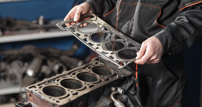 Land Rover Gasket Check