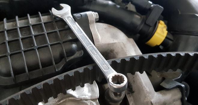 Mercedes Timing Belt Repair