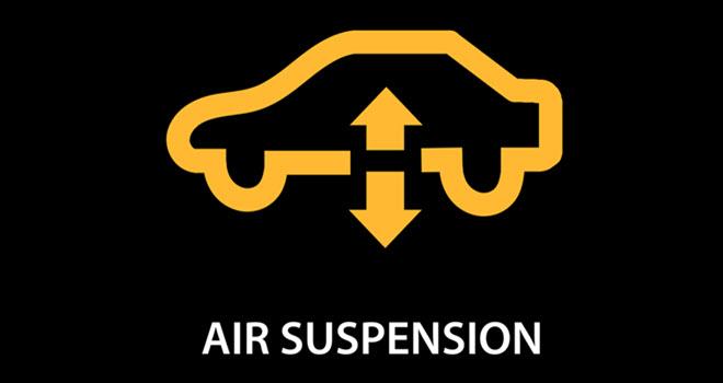 Jaguar Air Suspension Warning